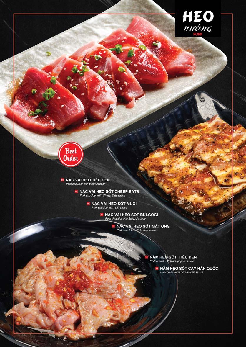 Menu Cheep Eats – Buffet lẩu nướng hải sản - Nguyên Hồng 7