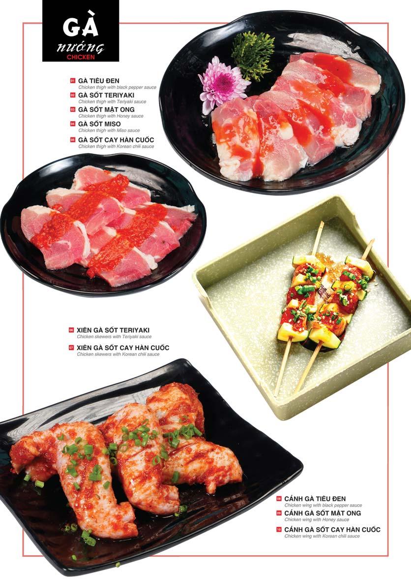 Menu Cheep Eats – Buffet lẩu nướng hải sản - Nguyên Hồng 8