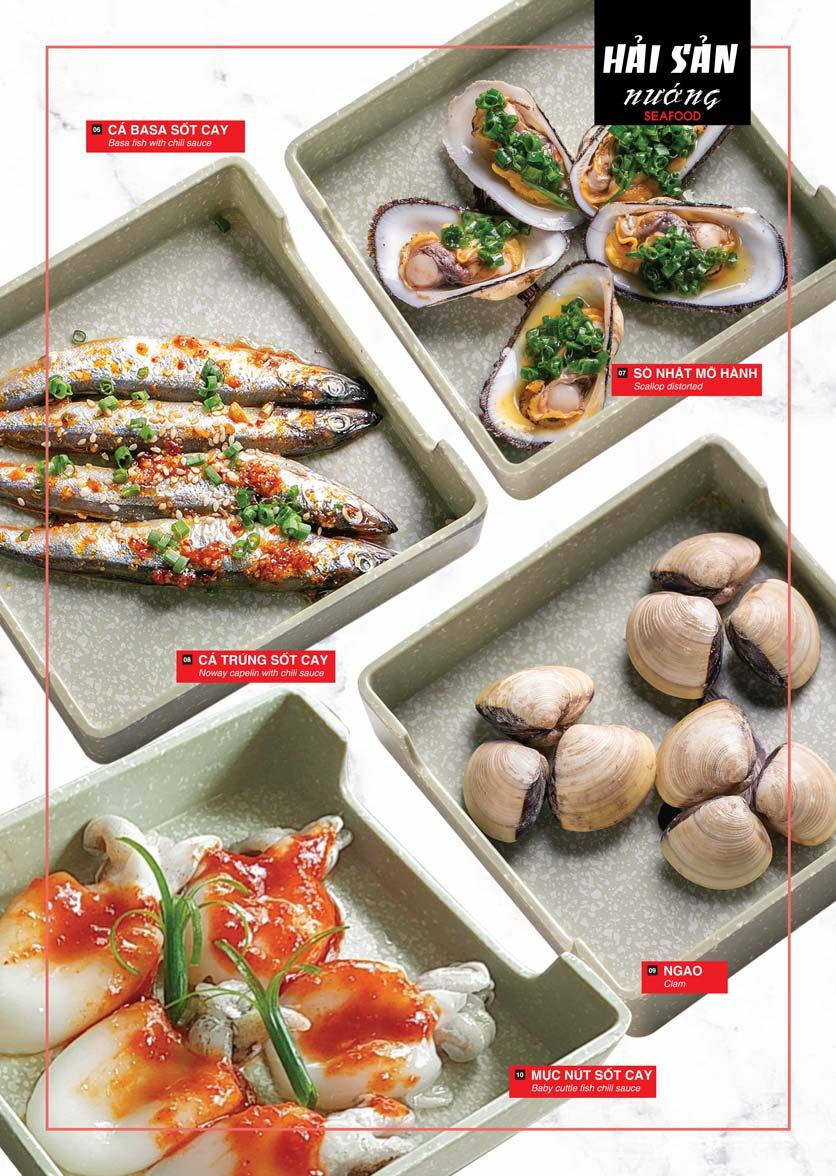 Menu Cheep Eats – Buffet lẩu nướng hải sản - Nguyên Hồng 10