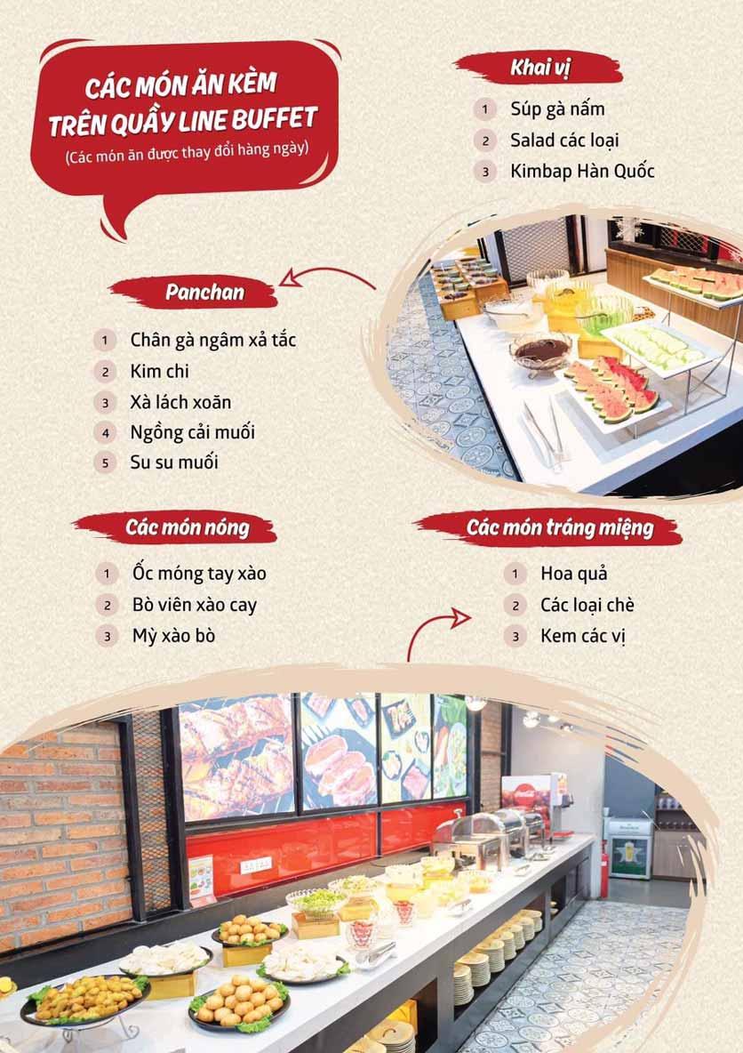 Menu Cheep Eats - Buffet nướng - lẩu - hải sản - Trần Phú 7