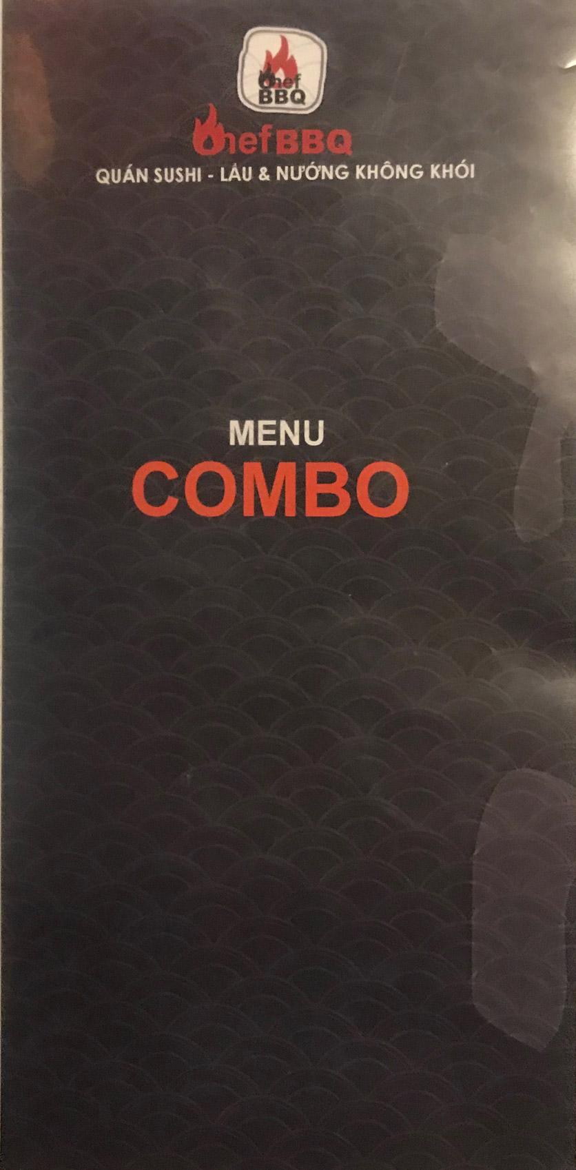 Menu Chef BBQ - Nghĩa Tân 18