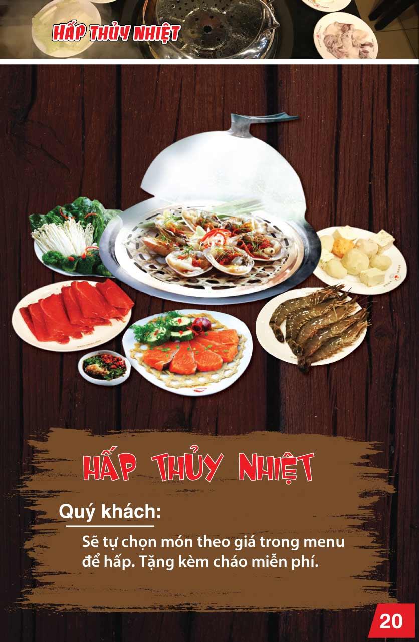 Menu Chen - Nguyễn Trãi 20
