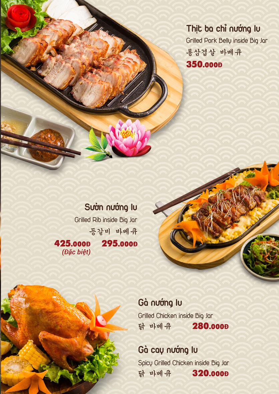 Menu Chum Restaurant - Nguyễn Thị Định 2