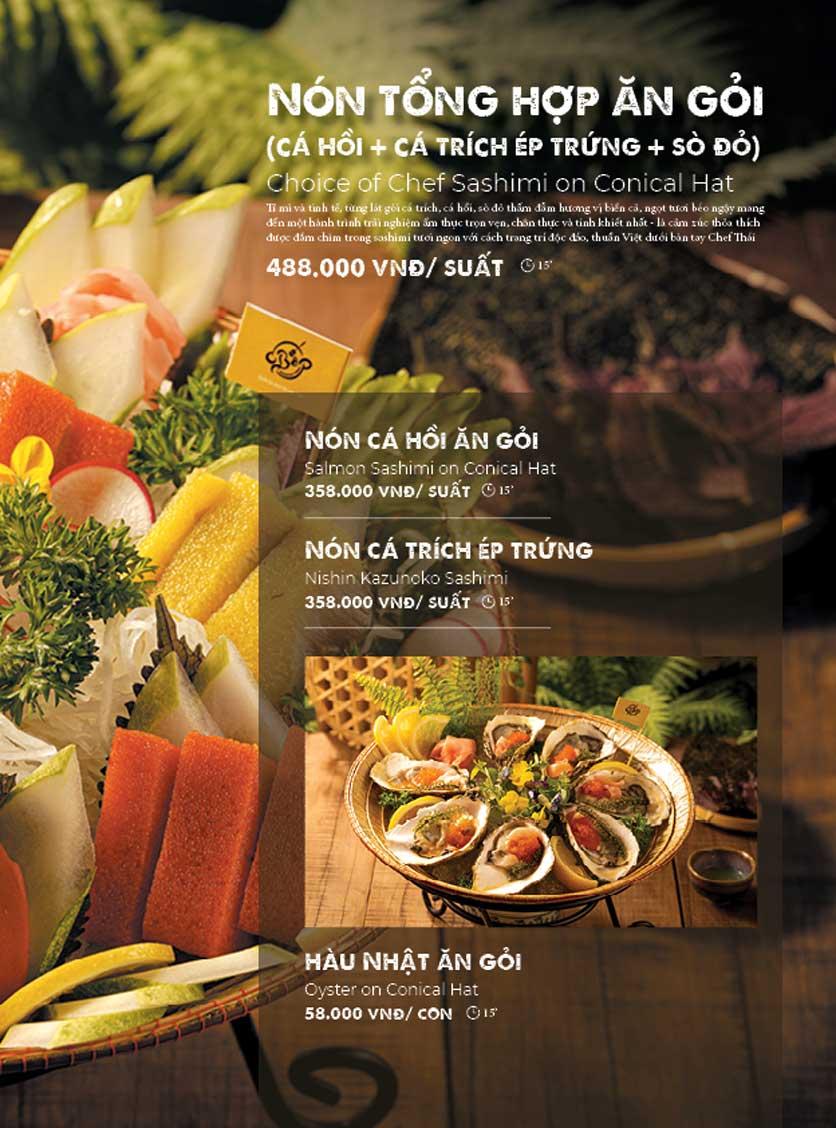 Menu Bếp Quán – Thợ Nhuộm 10