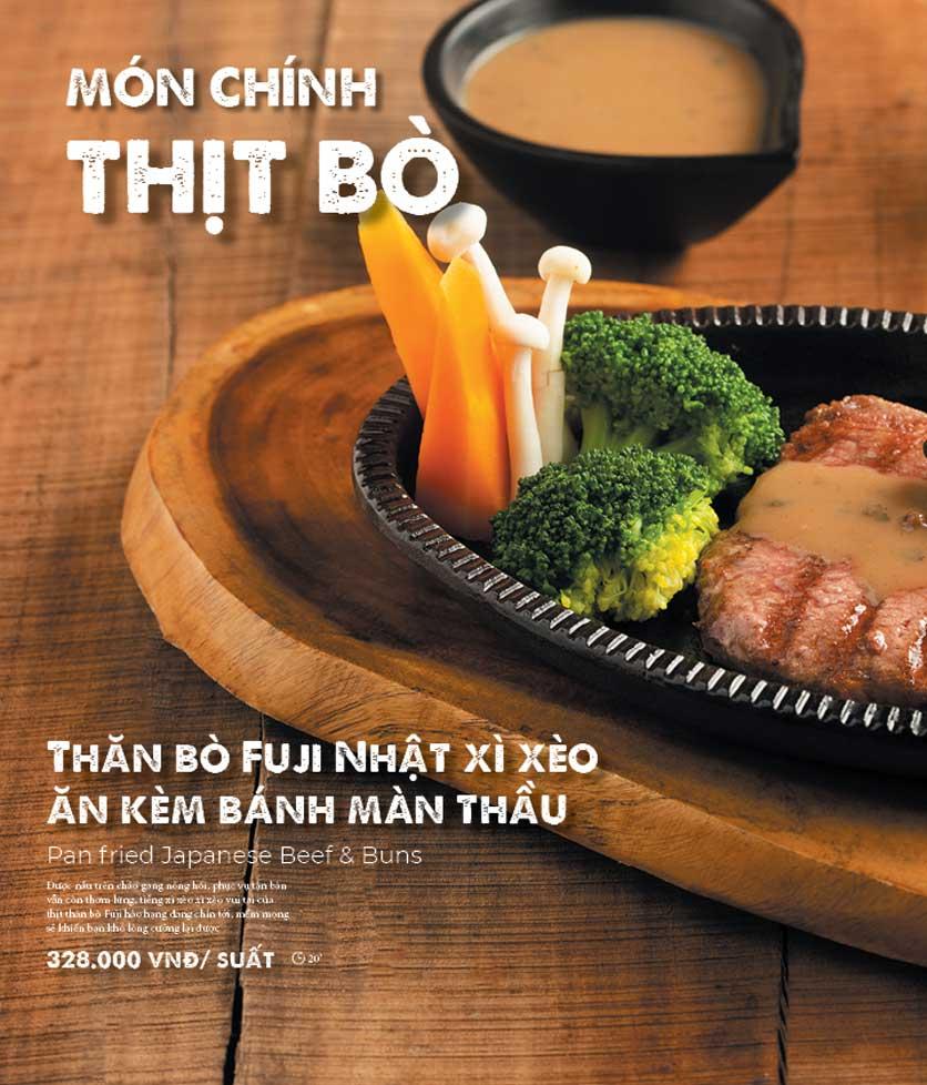 Menu Bếp Quán – Thợ Nhuộm 17