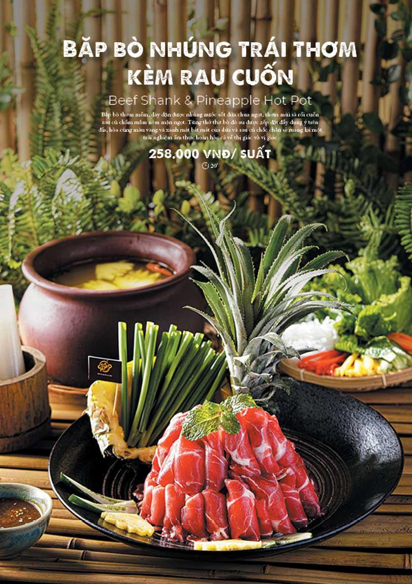 Menu Bếp Quán – Thợ Nhuộm 19