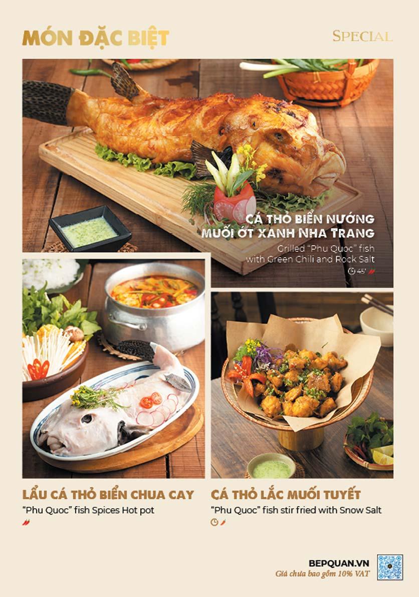 Menu Bếp Quán – Thợ Nhuộm 2