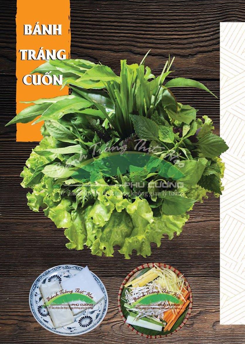 Menu Bánh Tráng Thịt Heo Phú Cường - Vũ Phạm Hàm   1
