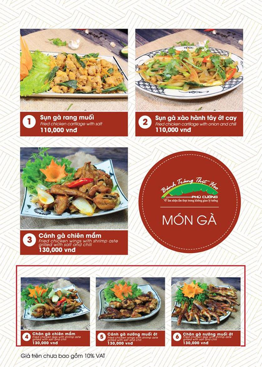 Menu Bánh Tráng Thịt Heo Phú Cường - Vũ Phạm Hàm   13