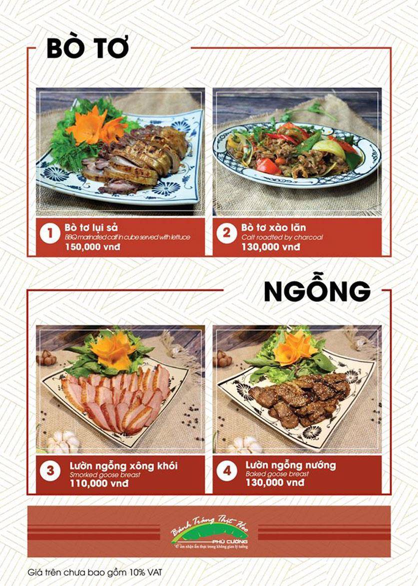 Menu Bánh Tráng Thịt Heo Phú Cường - Vũ Phạm Hàm   14