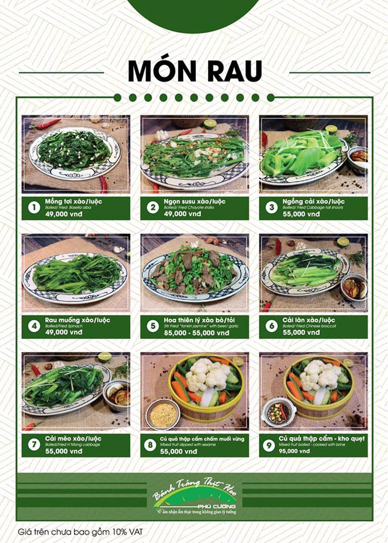 Menu Bánh Tráng Thịt Heo Phú Cường - Vũ Phạm Hàm   18