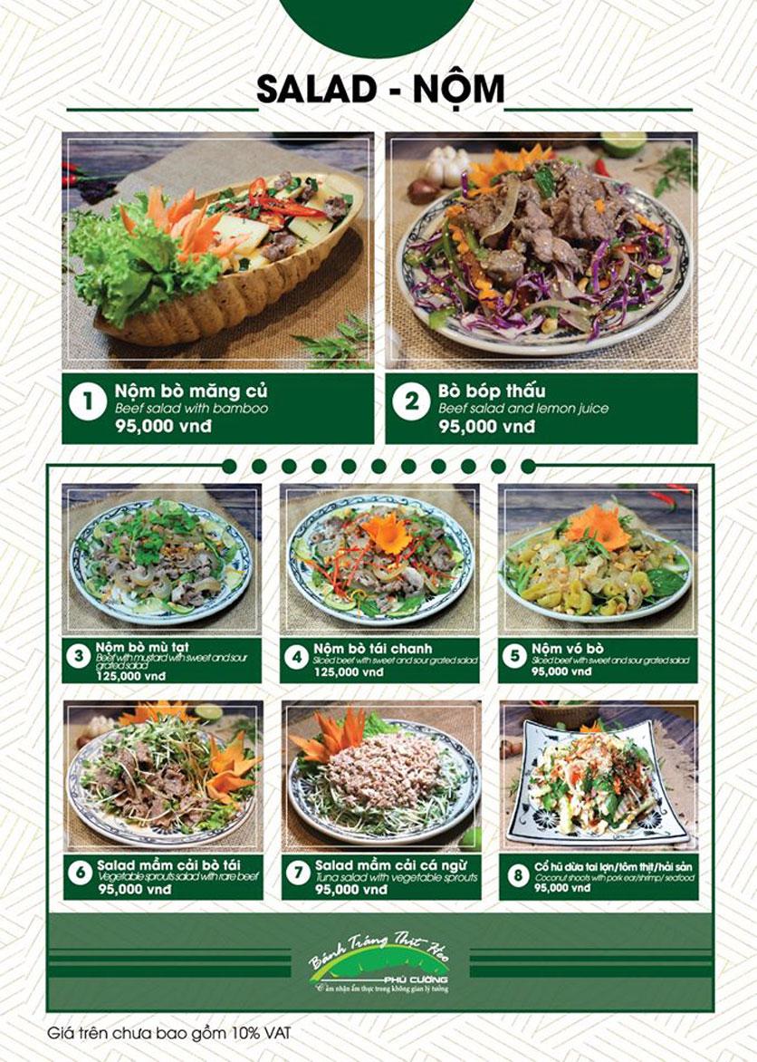 Menu Bánh Tráng Thịt Heo Phú Cường - Vũ Phạm Hàm   22