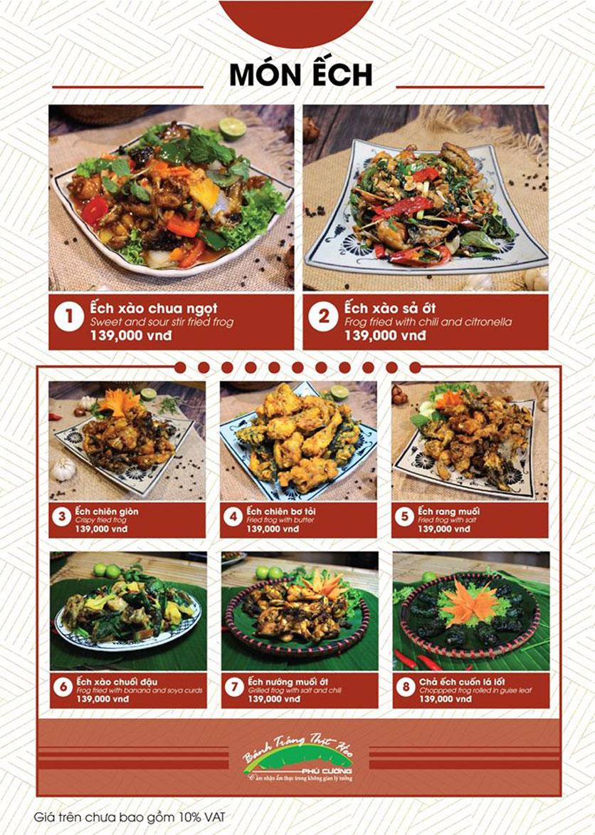 Menu Bánh Tráng Thịt Heo Phú Cường - Vũ Phạm Hàm   24