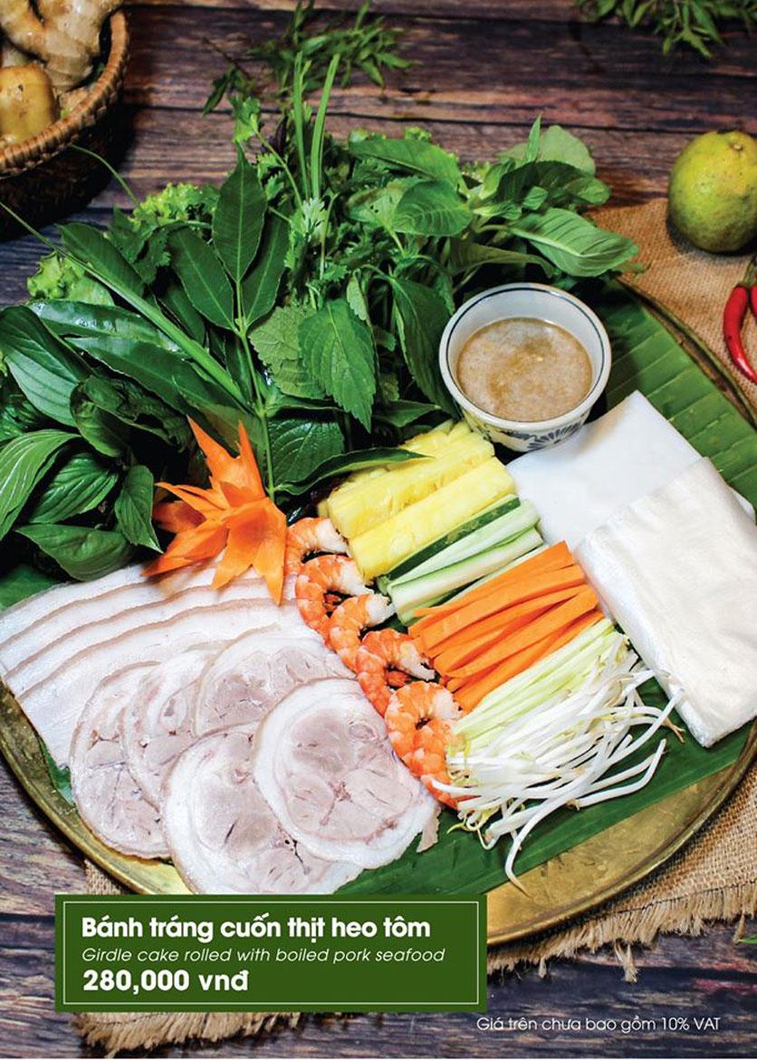 Menu Bánh Tráng Thịt Heo Phú Cường - Vũ Phạm Hàm   25