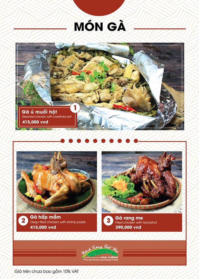Menu Bánh Tráng Thịt Heo Phú Cường - Vũ Phạm Hàm   27