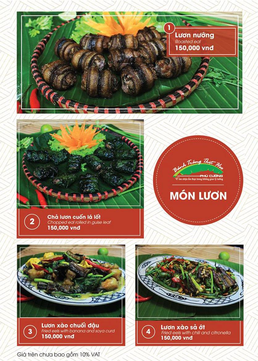 Menu Bánh Tráng Thịt Heo Phú Cường - Vũ Phạm Hàm   10