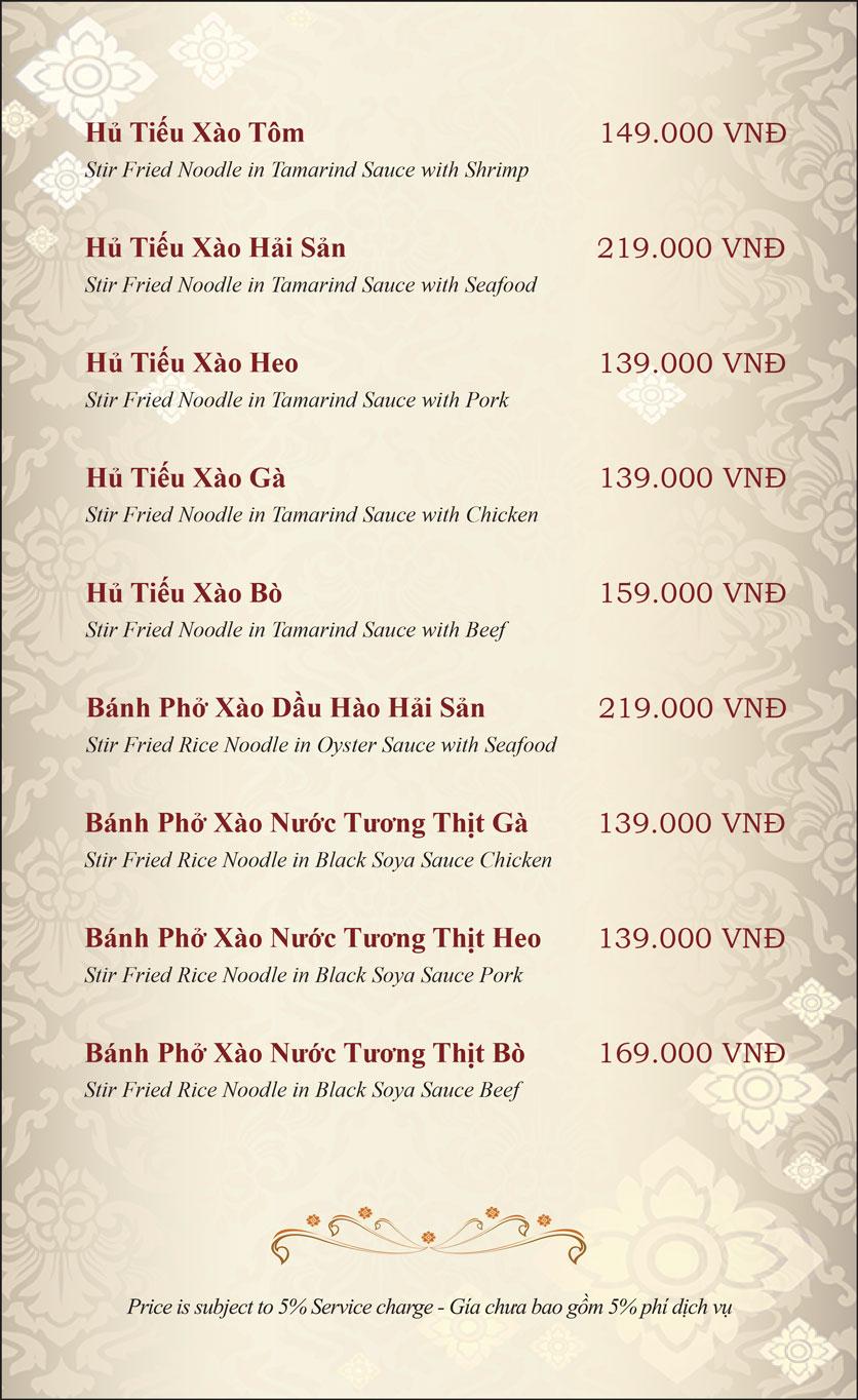 Menu Gusto Thai - Nguyễn Chí Thanh 21