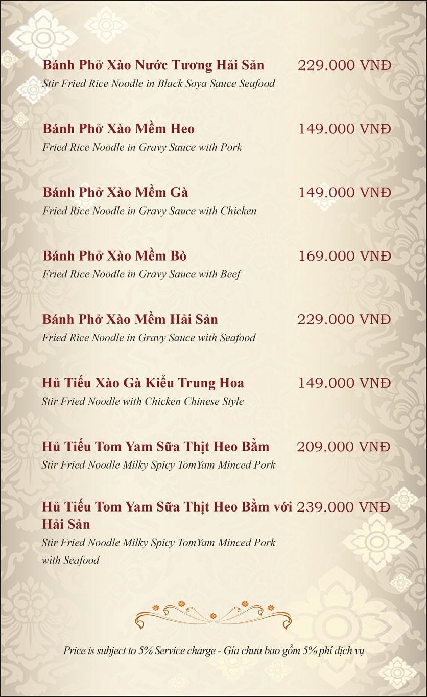 Menu Gusto Thai - Nguyễn Chí Thanh 22