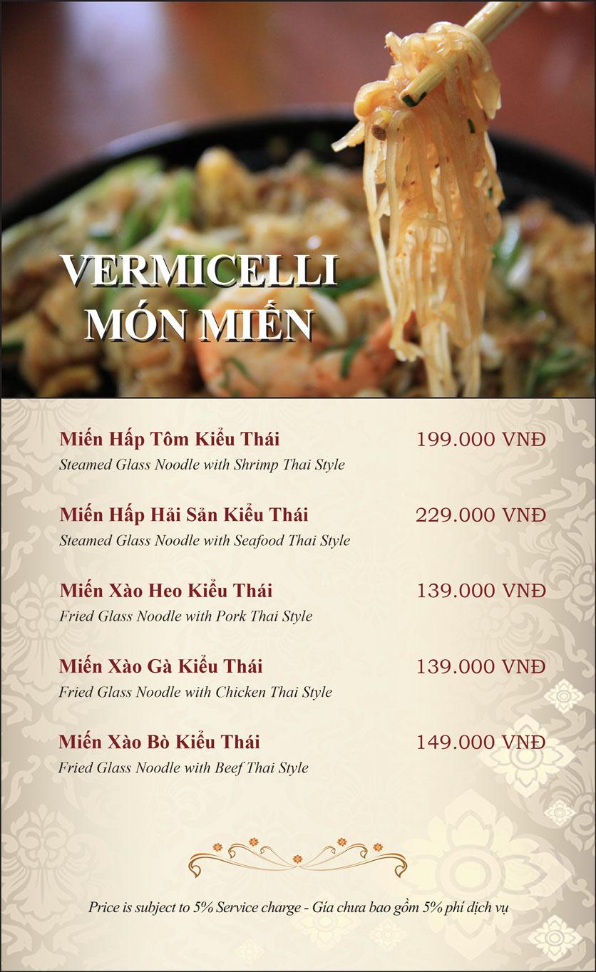 Menu Gusto Thai - Nguyễn Chí Thanh 23