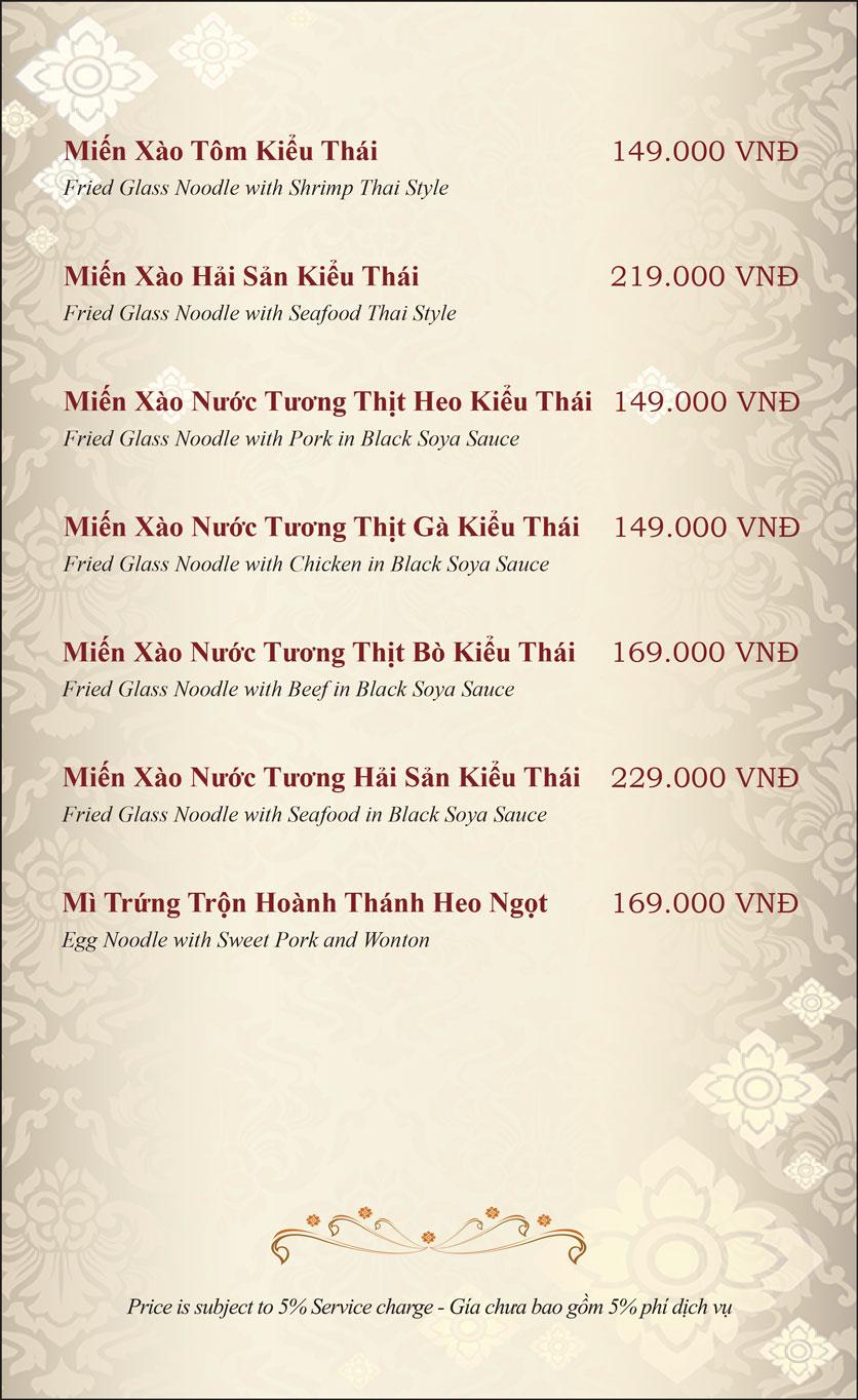Menu Gusto Thai - Nguyễn Chí Thanh 24
