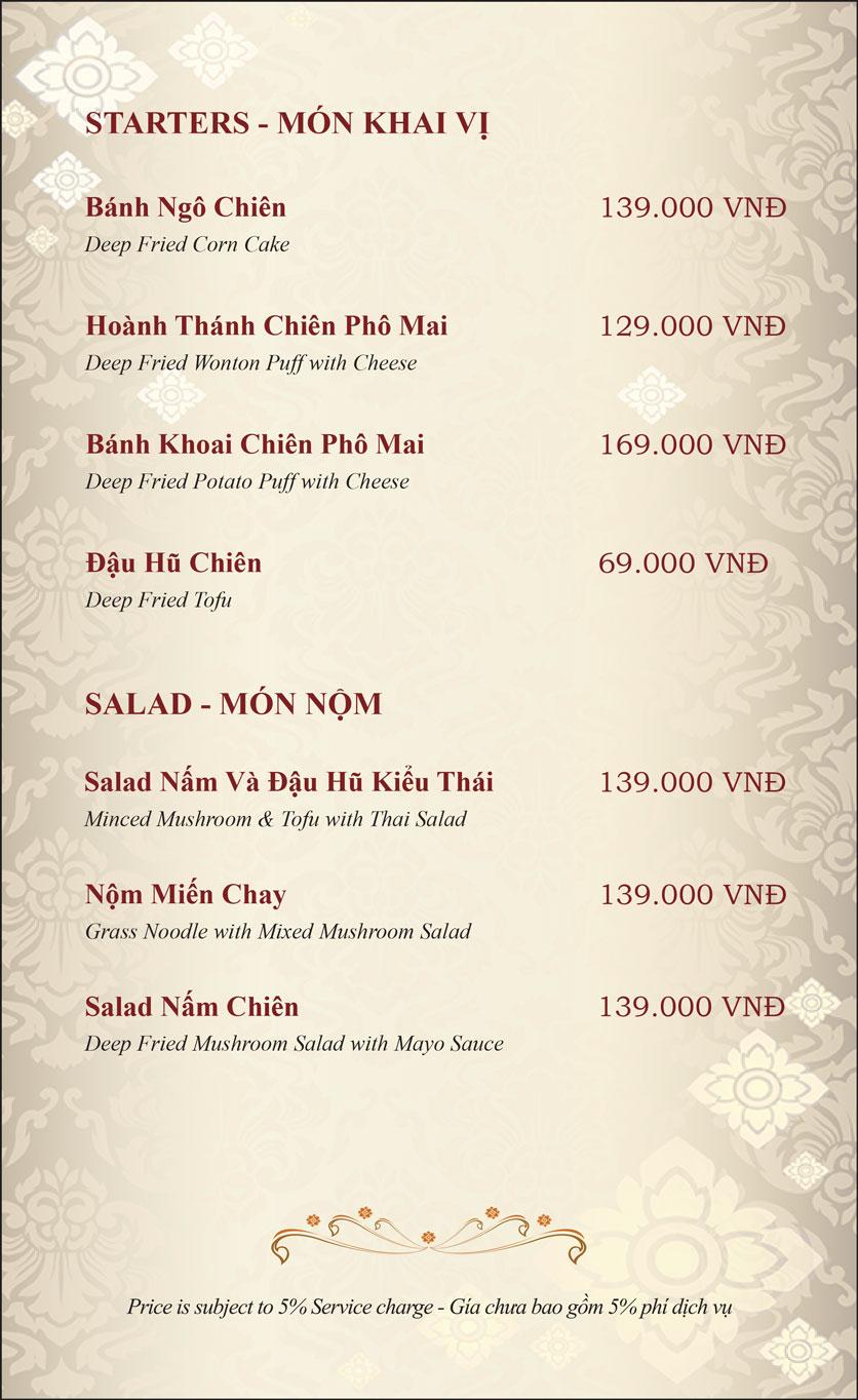 Menu Gusto Thai – Phan Chu Trinh 26