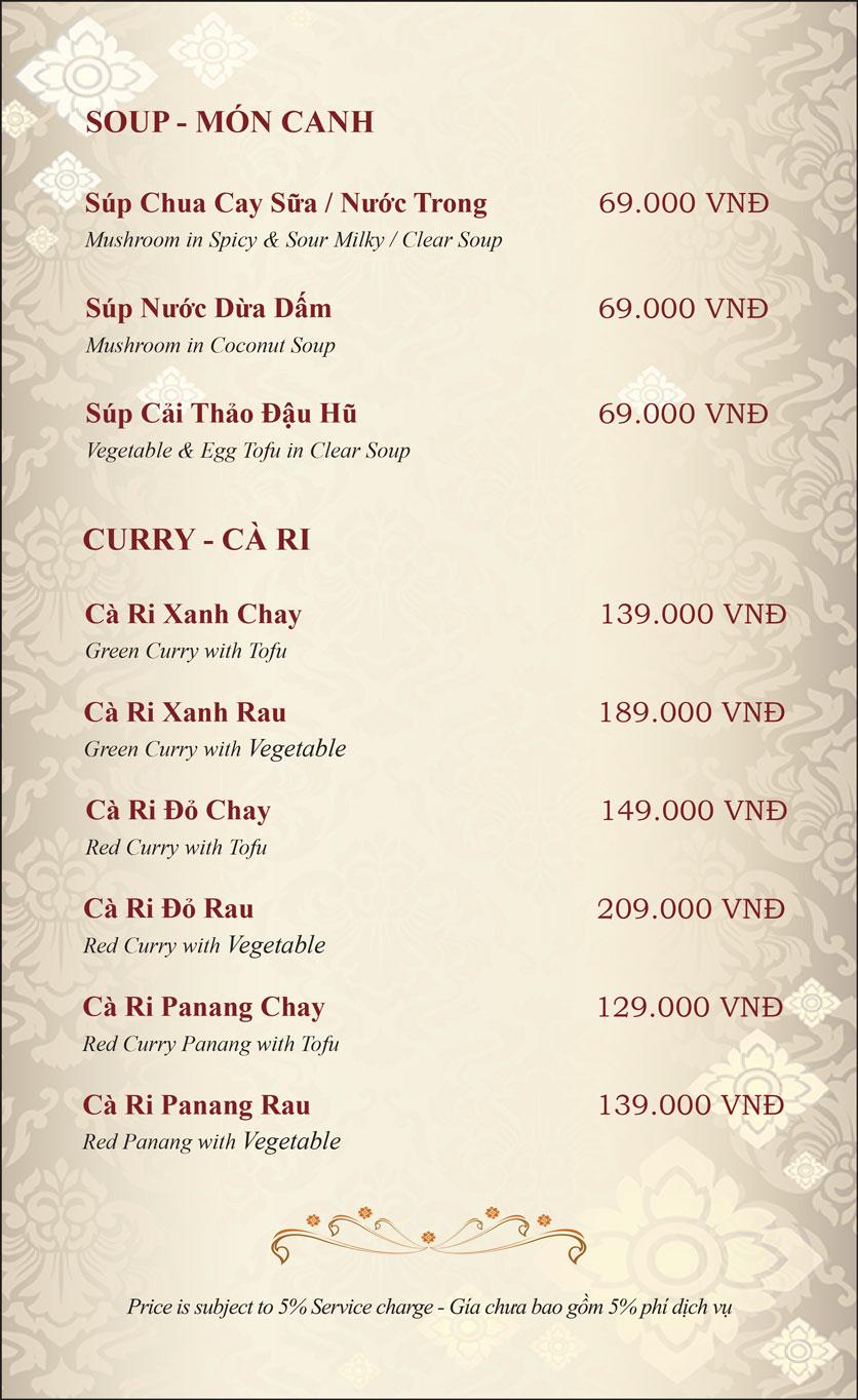 Menu Gusto Thai - Nguyễn Chí Thanh 27