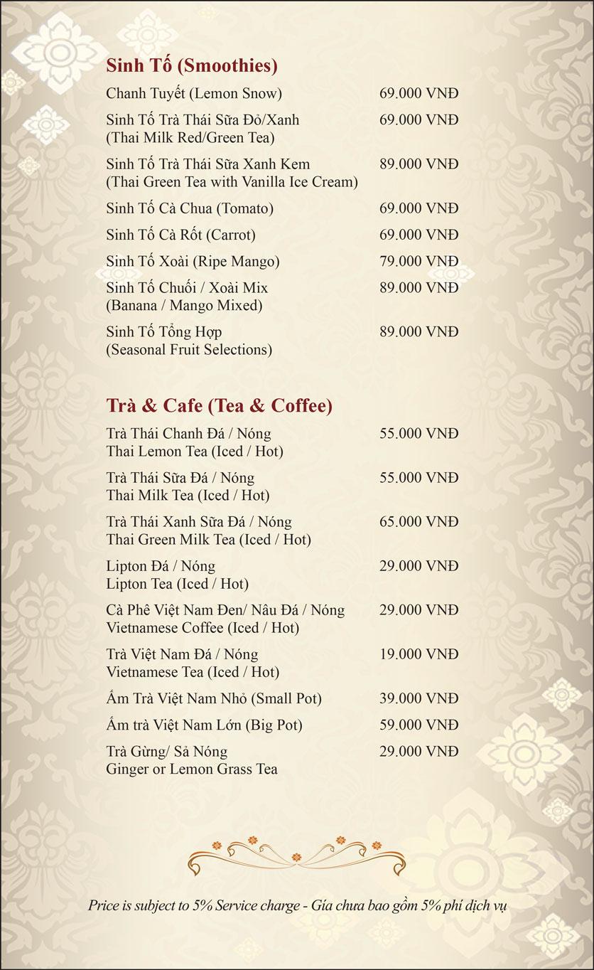 Menu Gusto Thai - Nguyễn Chí Thanh 34