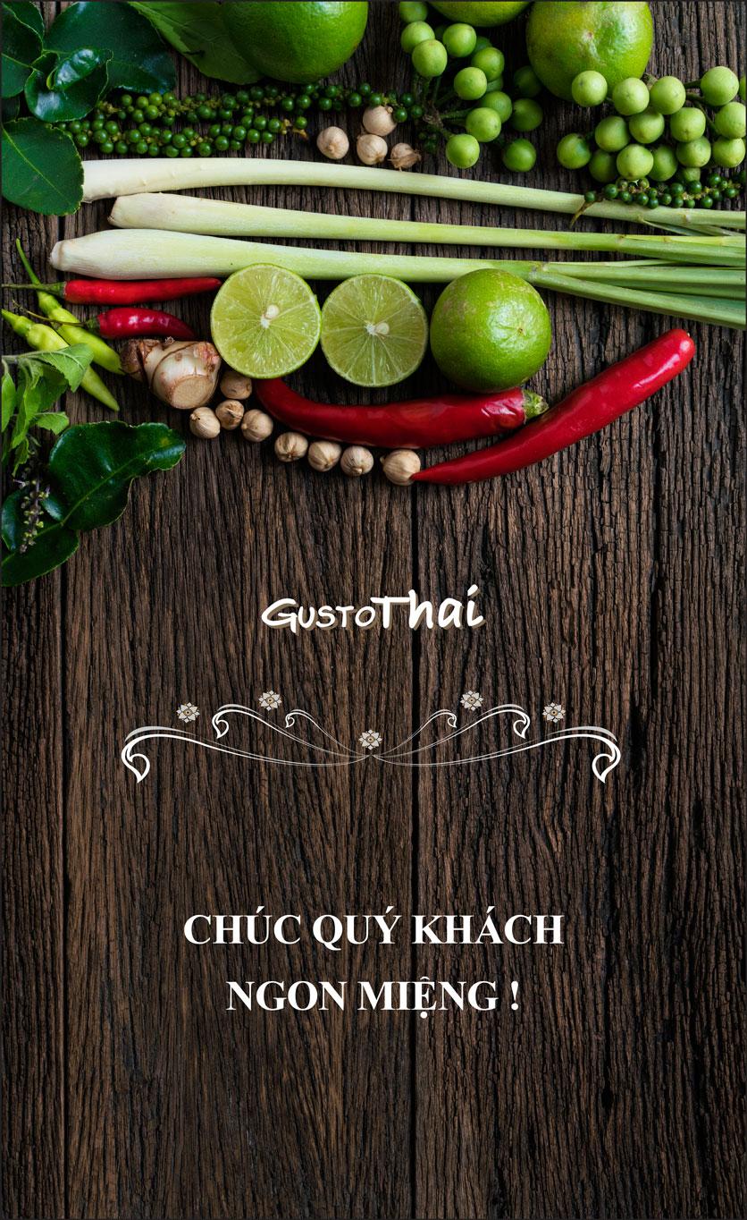 Menu Gusto Thai - Nguyễn Chí Thanh 37