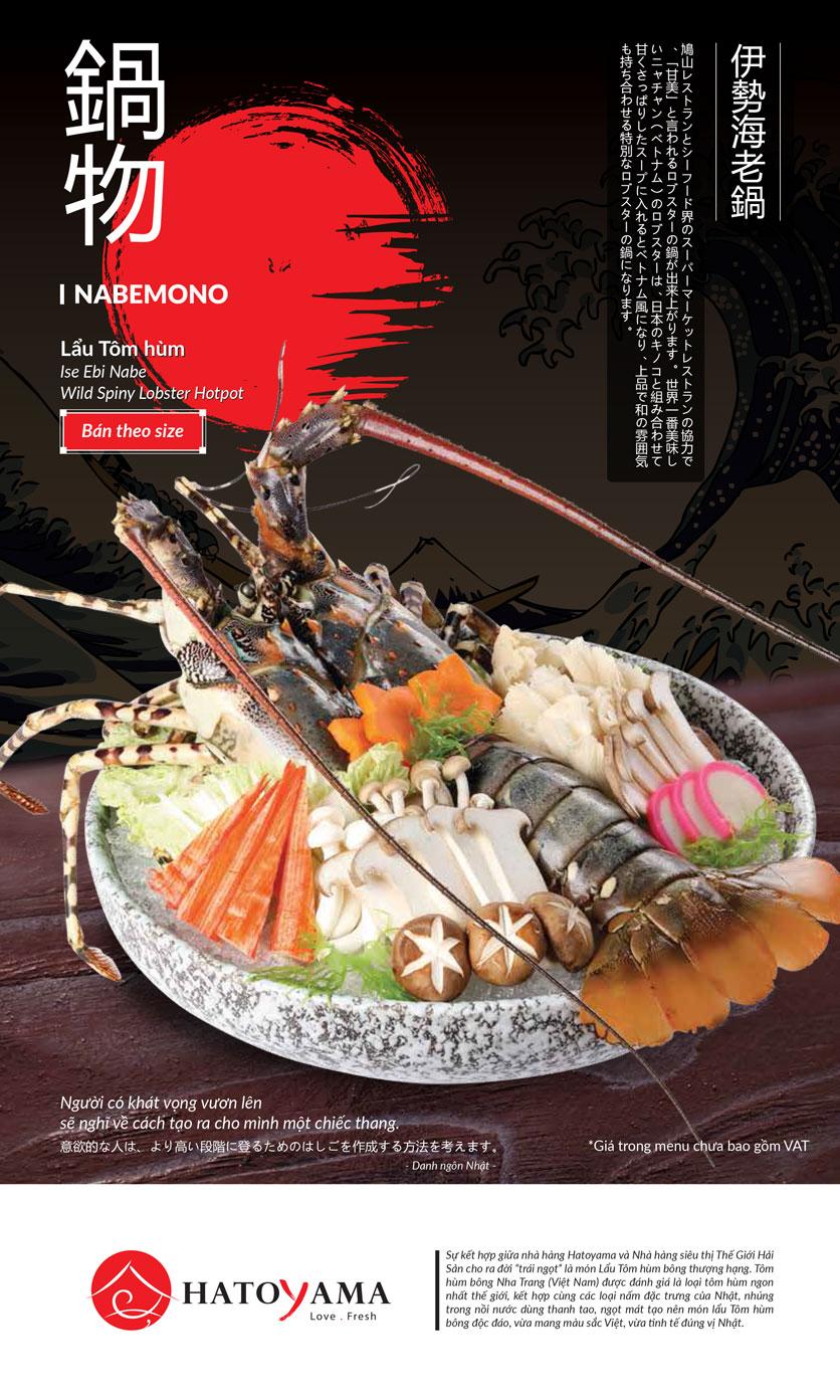 Menu Hatoyama - Vạn Phúc 48