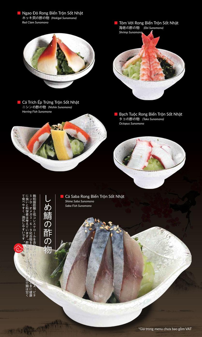 Menu Hatoyama - Vạn Phúc 8