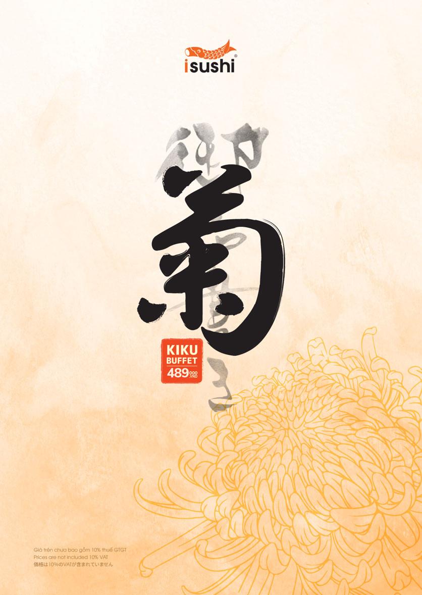 Menu iSushi - Cao Thắng 1