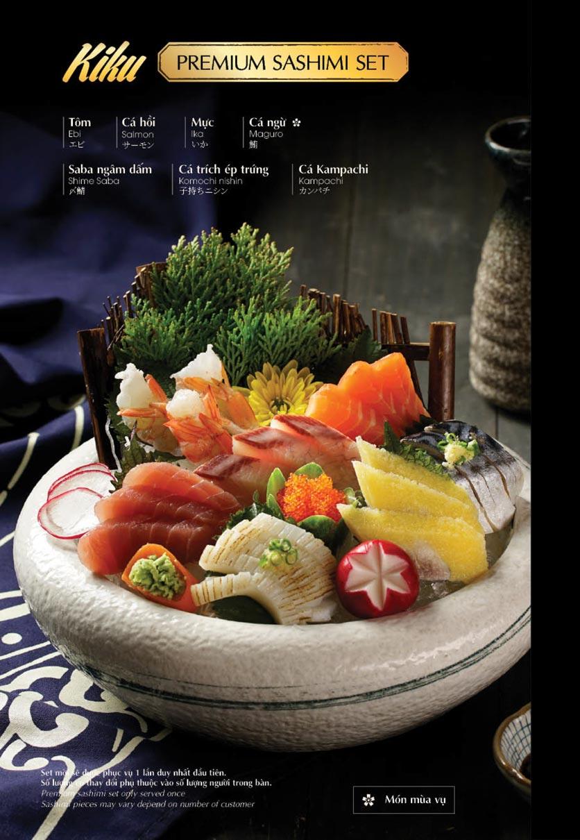 Menu iSushi - Cao Thắng 2