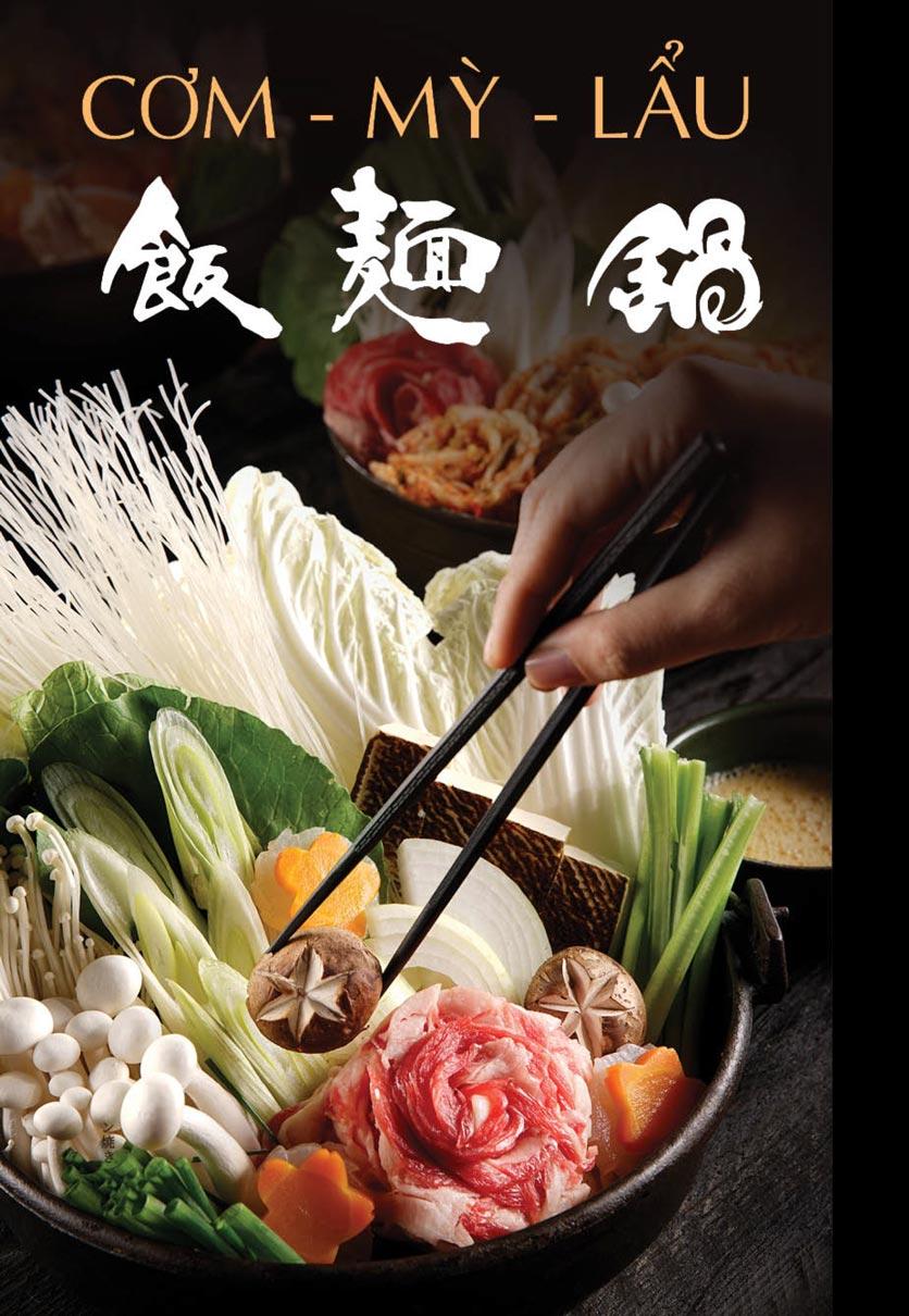 Menu iSushi - Cao Thắng 26