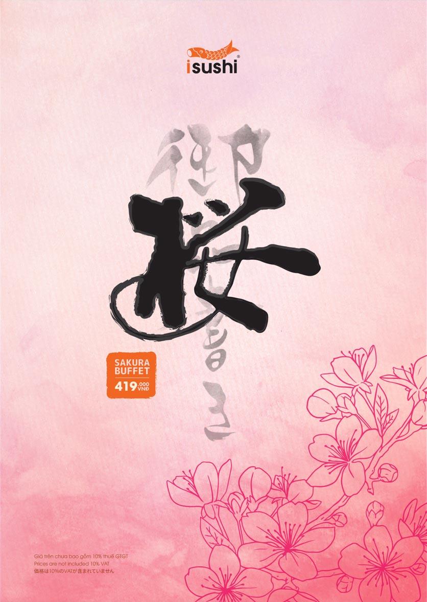 Menu iSushi - Cao Thắng 7