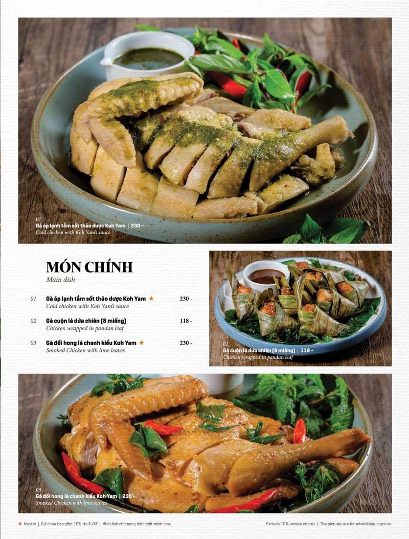 Menu Bếp Thái Koh Yam - Bà Triệu  13