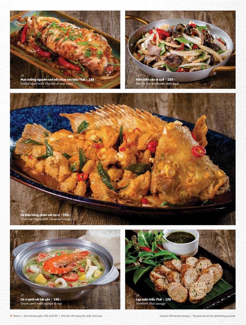 Menu Bếp Thái Koh Yam - Bà Triệu  17
