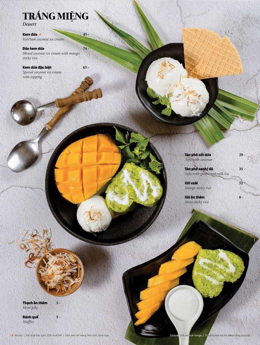 Menu Bếp Thái Koh Yam - Bà Triệu  24