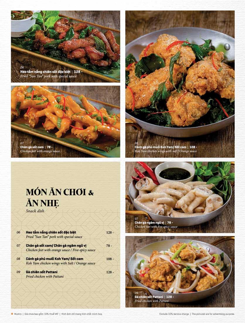 Menu Bếp Thái Koh Yam - Bà Triệu  11