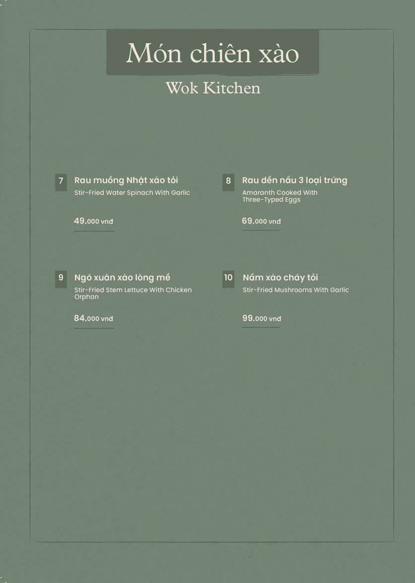 Menu Kampong Chicken House - Cơm gà Hải Nam - Hoàng Đạo Thúy 11