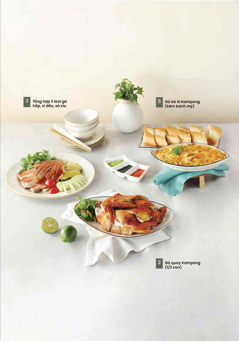 Menu Kampong Chicken House - Cơm gà Hải Nam - Hoàng Đạo Thúy 16