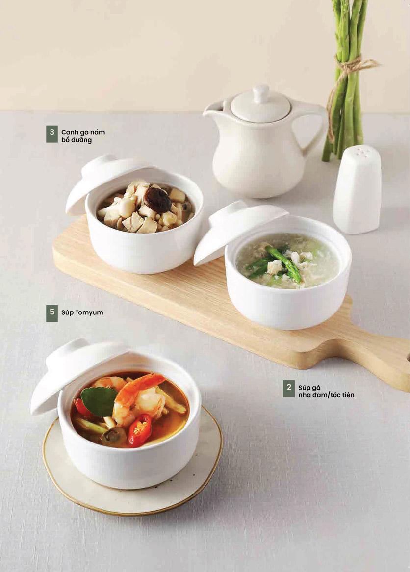 Menu Kampong Chicken House - Cơm gà Hải Nam - Hoàng Đạo Thúy 2