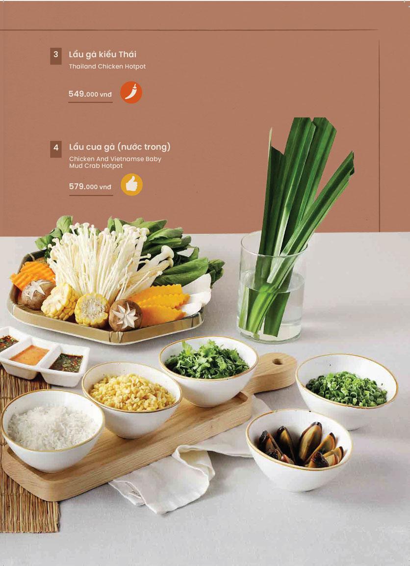 Menu Kampong Chicken House - Cơm gà Hải Nam - Hoàng Đạo Thúy 20