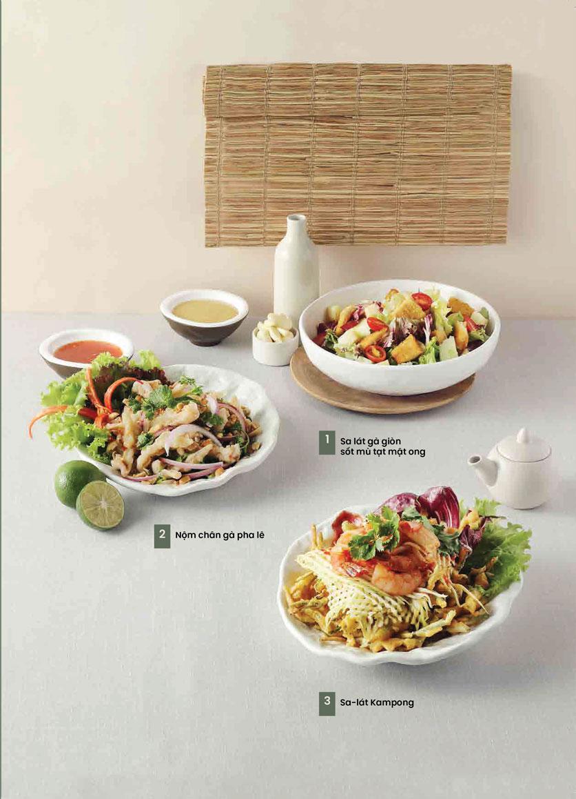 Menu Kampong Chicken House - Cơm gà Hải Nam - Hoàng Đạo Thúy 4