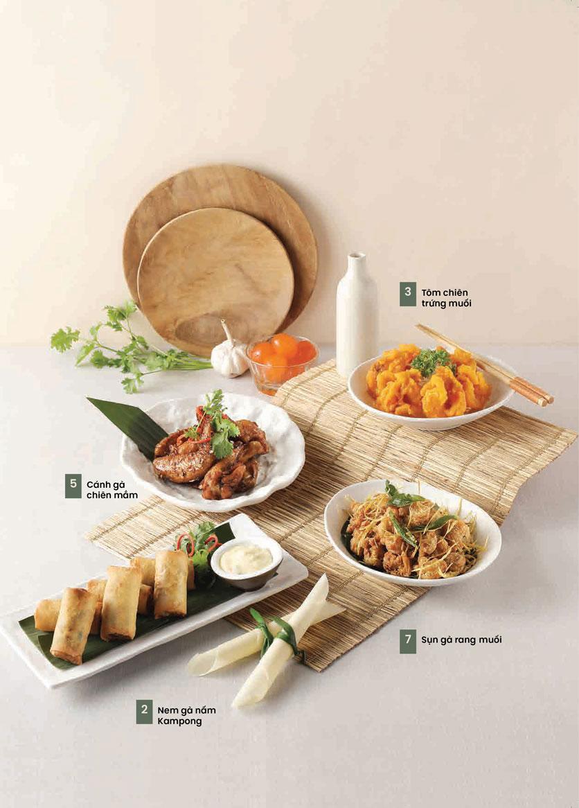 Menu Kampong Chicken House - Cơm gà Hải Nam - Hoàng Đạo Thúy 6