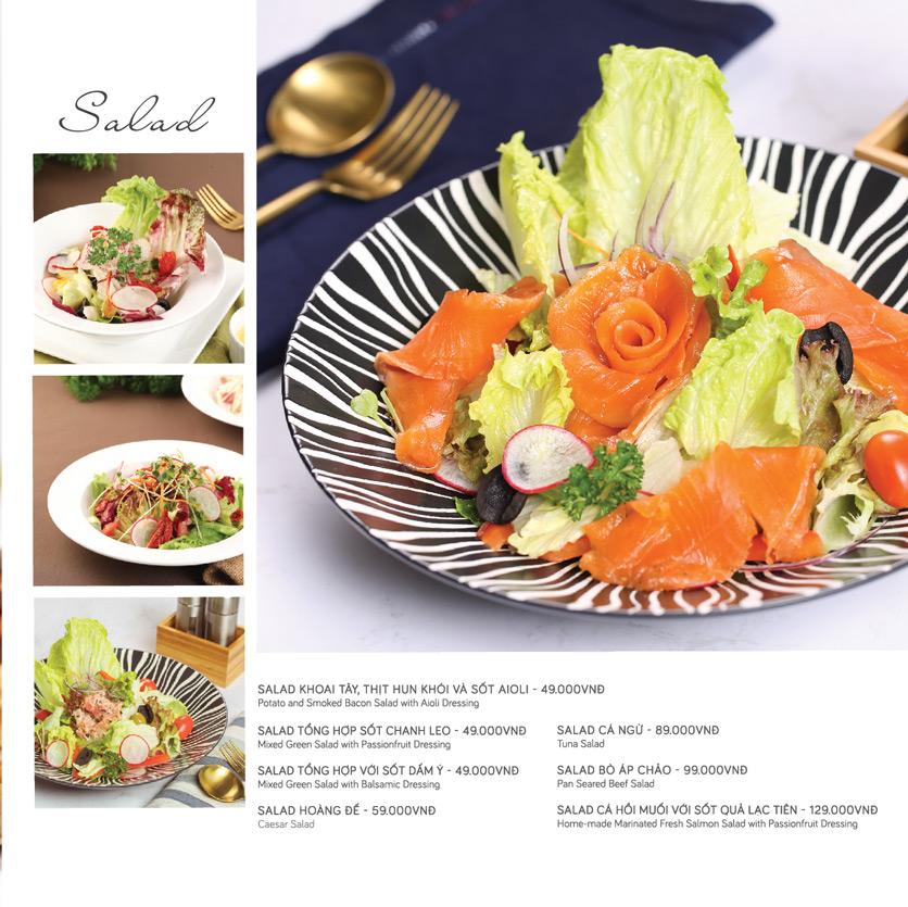 Menu Le Monde Steak - Phan Chu Trinh 13