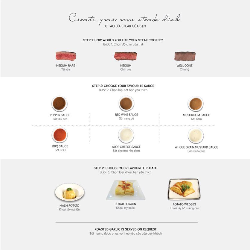 Menu Le Monde Steak - Phan Chu Trinh 15