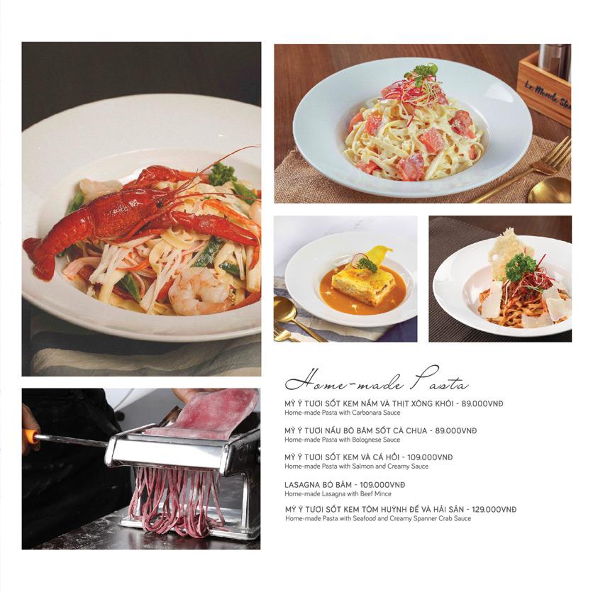 Menu Le Monde Steak - Phan Chu Trinh 19