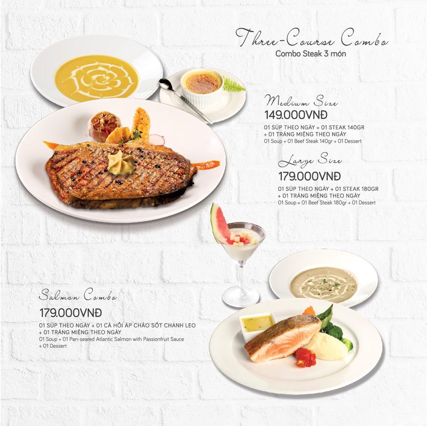Menu Le Monde Steak - Phan Chu Trinh 20