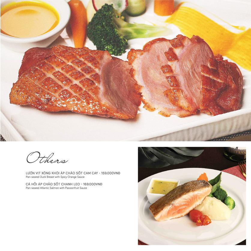 Menu Le Monde Steak - Phan Chu Trinh 6