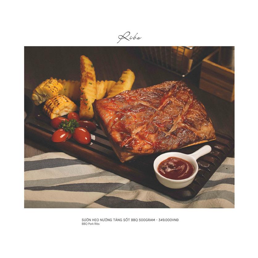 Menu Le Monde Steak - Phan Chu Trinh 8
